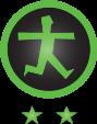 Logo Drempelvrij Keurmerk twee sterren