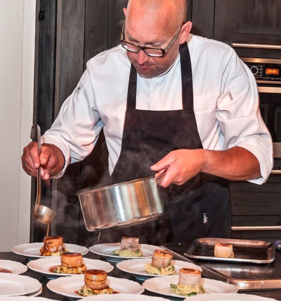 Foto van restauranthouder Ivan Louer