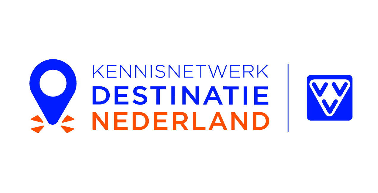 Logo kennisnetwerk destinatie Nederland en VVV