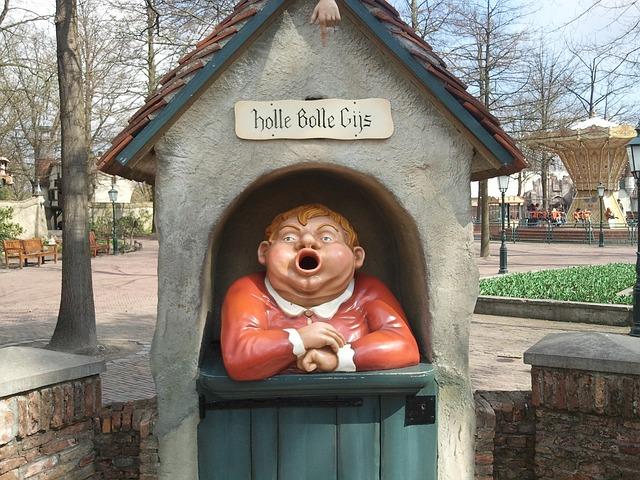 Foto van Holle Bolle Gijs uit de Efteling